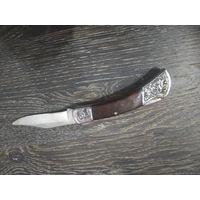 Нож раскладной с фиксатором
