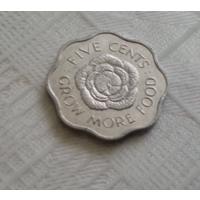 5 центов 1972 г. Сейшелы