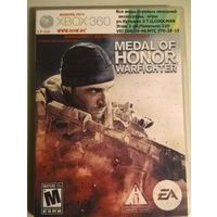 Диск для XBOX360. Medal of Honor: Warfighter. (XBOX 360. X-BOX)