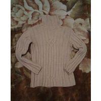 Теплый свитер на девочку 8 лет