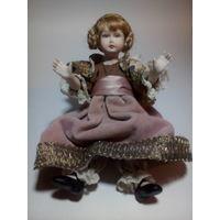 Кукла фарфор, Италия, винтаж