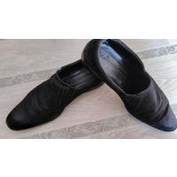 Туфли замшевые мужские в хорошем состоянии, р-р 45