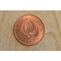 Сьерра Леоне 1 цент 1964 (один год)