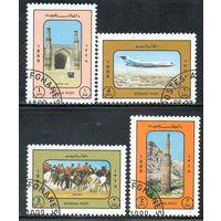 Афганистан 1989 год серия из 4 марок