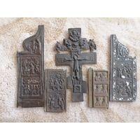 Крест и створки.