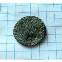 Монета с надчеканом MS Михаил Сапега