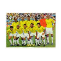 Футбольная карточка Сборная Бразилии