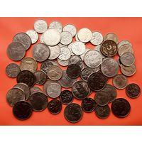 66 монеток Китая, Индии, Таиланда