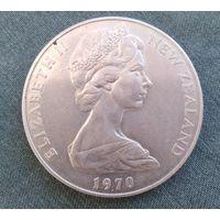 Новая Зеландия, 1 доллар 1970 г.