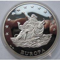 Германия, экю, 1993, серебро, пруф