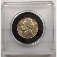 США, 5 центов 1943 P (War Nickel) - серебро UNC