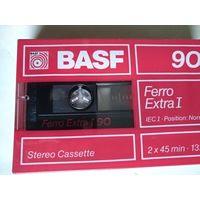 Аудио кассета BASF Ferro Extra I 90. 2x45 min.132m