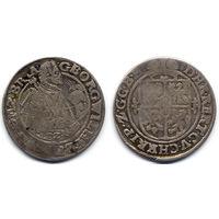 Орт 1621, Германия, Пруссия, Георг Вильгельм. Вариант с годом под портретом. Редкий, R2