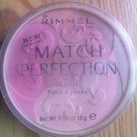 Rimmel румяна Match Perfection Blush 15г, 001 light (3196)