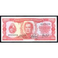 Уругвай / URUGUAY_nd (1967)_100 Pesos_P#47.a_UNC