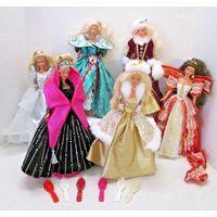 Куклы Барби, Barbie Happy Holidays 1993 1995 1996 1997 1998