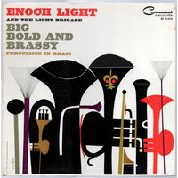LP Enoch Light 'Big Bold and Brassy: Percussion in Brass'