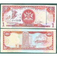 Тринидад и Тобаго. 1 доллар 2006 год UNC  другой  номер