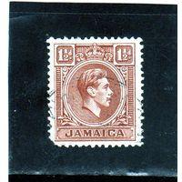 Ямайка.Ми-122. Король Георг VI. 1938.