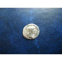 Динарий. Император ТРАЯН 98-117гг. н.э.
