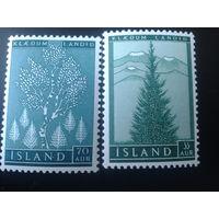 Исландия 1957 деревья полная серия