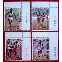 Нигер. Спорт. ( 4 марки ) 1984 года.