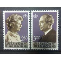 Лихтенштейн члены королевской семьи 1983