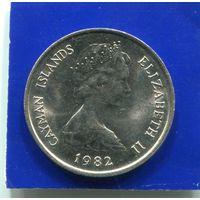 Каймановы острова 10 центов 1982