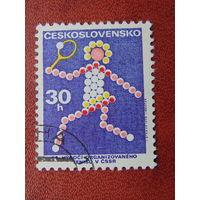 Чехословакия 1973г. Спорт.