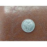 5 центов 1973 Острова Кука