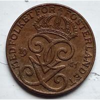 Швеция 2 эре, 1941 4-4-46