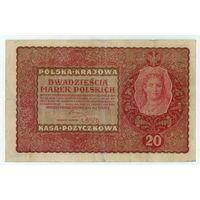 Польша, 20 марок польских 1919 год.