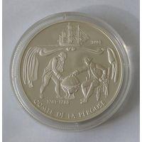 Самоа 10 Тала 1994 Жан-Франсуа де Лаперуз Серебро (2)