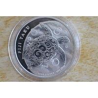 Фиджи 1 доллар 2013   Большая черепаха Таку
