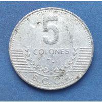 Коста-Рика 5 колонов, 2008