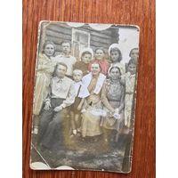 Фото семья, Западная Беларусь, после 1944 года