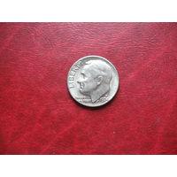 10 центов 1974 года США D