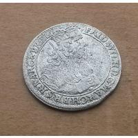 Пруссия, орт (18 грошей) 1681 г., серебро, Фридрих Вильгельм