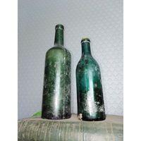 Бутылки алкогольные РСФСР 1940гг  0.325 и 0.75 литра