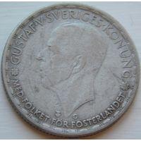 9. Швеция 1 крона 1944 год, серебро*