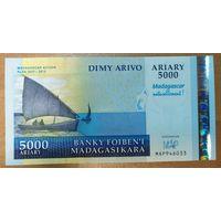 5000 ариари 2008 года - Мадагаскар - UNC