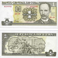 Куба 1 песо  2011  год   UNC