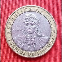 06-36 Чили, 100 песо 2008 г.