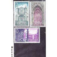 Монастыри Испания 1972 Реальный монастырь Санто Томас (Авила) –MNH**