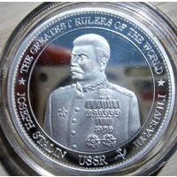 """Гонк Конг. Доллар 2013 г. """"И.В.Сталин. Сталинградская битва"""". R."""