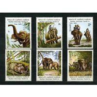 Лаос 1982г. слоны, 6м.