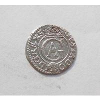 Шиллинг 1631 Рига Густав Адольф Прибалтийские владения Швеции
