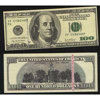 Сувенир - США 100 долларов 2003 год n213