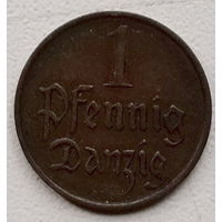Данциг 1 пфенниг 1930