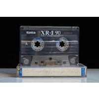 Аудиокассета - KONICA XR I 90
